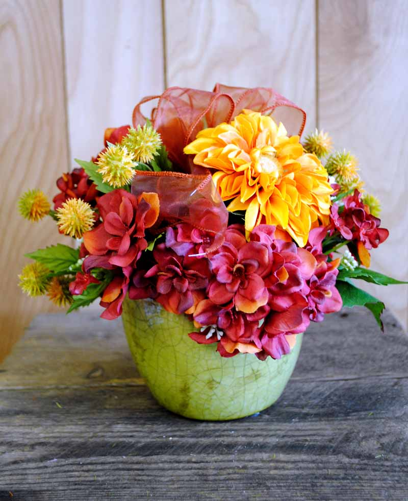 Fall Silk Arrangements Are In Bloom!