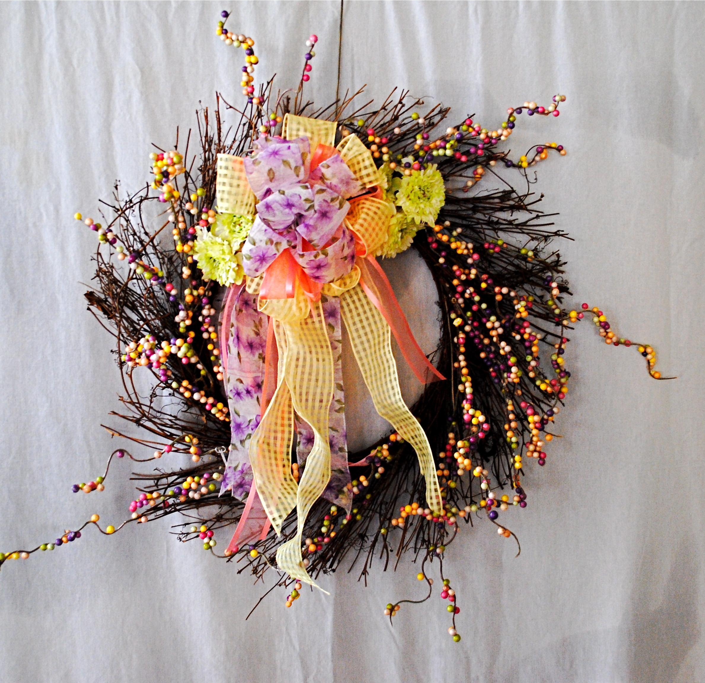 Spring Wreaths 2012