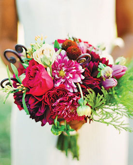 Bridal Bouquets…do you like color?