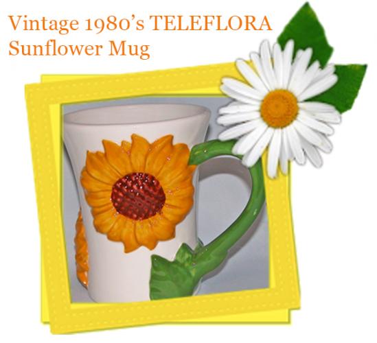 vintagesunflower-mug