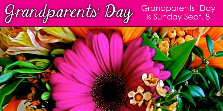 Grandparent's Day – Sunday September 8th