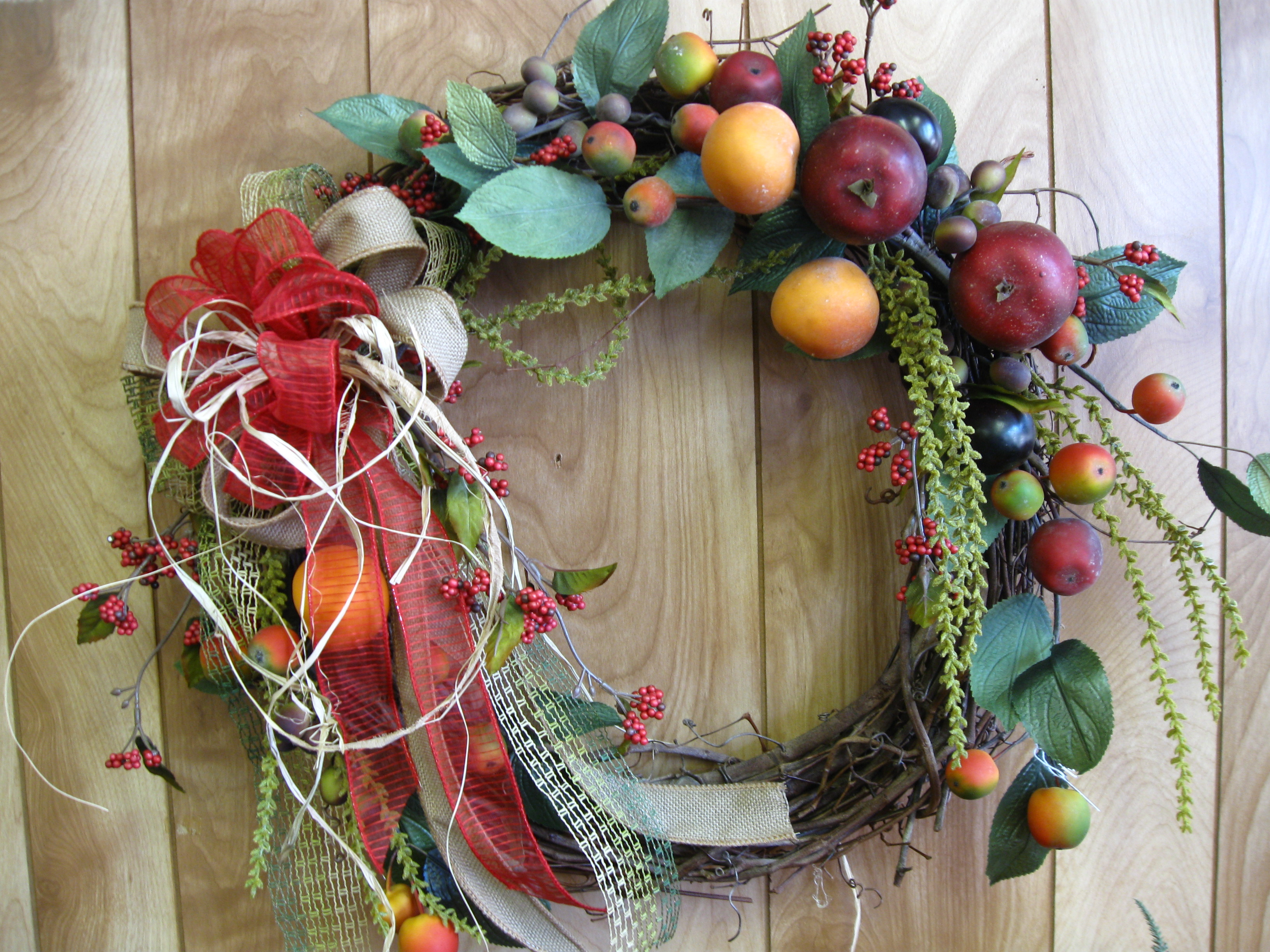 Fruit Fancy and Fun Wreaths