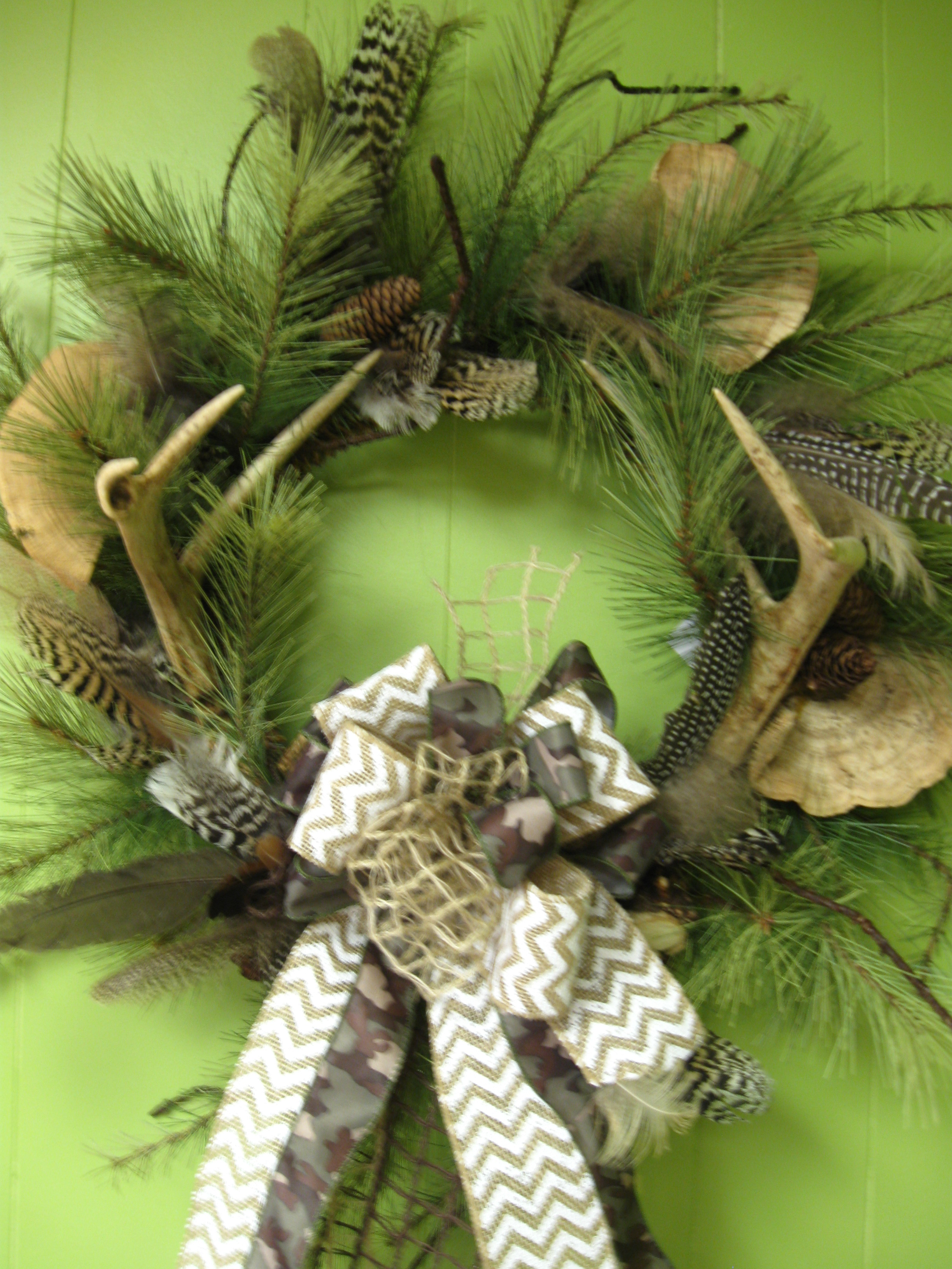 Deer Antler Wreaths – Handcrafted Originals